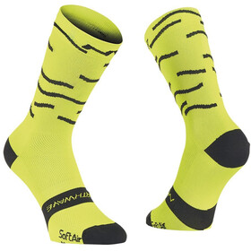 Northwave Waves Socks lime fluo/black